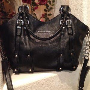 Michael Kors Black Studded Bag NWT